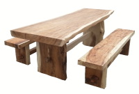 Wooden and (teak) root furniture